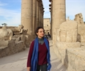 Prof Salima Ikram at Luxor Temple