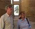 Kathy Hanson and Robert Hurford in Luxor